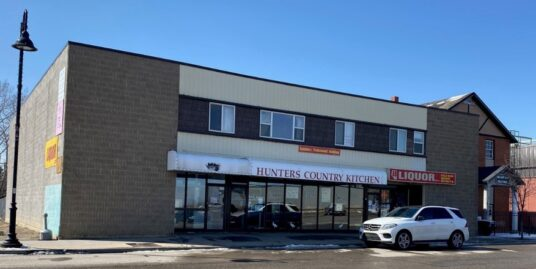 Mixed use Building For Sale includes Liquor Store Business